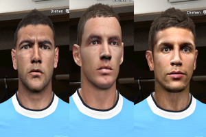 download PES 2014 Manchester City Facepack by Rednik