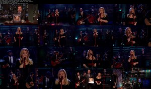 Kelly Clarkson - Don't Rush [Jimmy Fallon 11-26-13] (1080i)