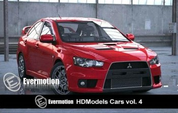 Evermotion-HDModels Cars vol 4