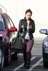 2ba49e291662832 [Ultra HQ] Brenda Song   out in Studio City 11/26/13 high resolution candids