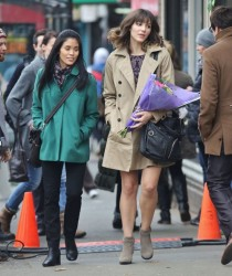 39cb86291813874 [Low Quality] Katharine McPhee   on the set of In My Dreams in Vancouver 11/28/13 high resolution candids