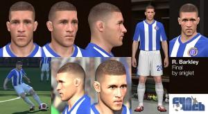 download Ross Barkley [Everton] Face by sniglet