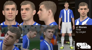download PES 2014 John Stones Face by sniglet