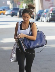 Brenda Song - Going to the gym in Studio City 12/3/13