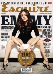 Emmy Rossum in Esquire Mexico - December 2013