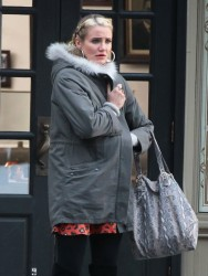 Cameron Diaz - on the set of 'Annie' in NYC 12/4/13