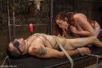 Mz. Berlin Humiliates, Fucks, and Punishes Slave with No Limits - Kink/ DivineBitches (2013/ HD 720p)