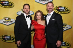 Alyssa Milano - 2013 NASCAR Sprint Cup Series Champion's Awards in Las Vegas 12/6/13