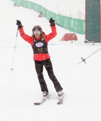 Cheryl Hines - Deer Valley Celebrity Skifest in Park City 12/7/13
