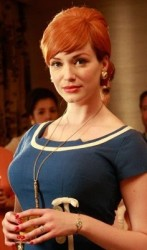 Christina Hendricks - as Joan Holloway from Mad Men