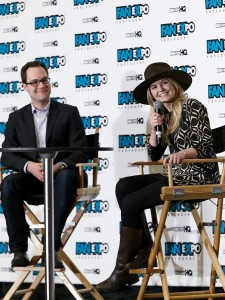 Jennifer Morrison - Celebrity Q&A during 'Fan Expo Vancouver 2015' in Vancouver on April 3, 2015