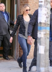 Jennifer Lawrence - Out & About in NYC 4/4/15