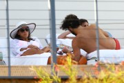 Eva Longoria | Poolside in Miami | April 5 | 15 pics