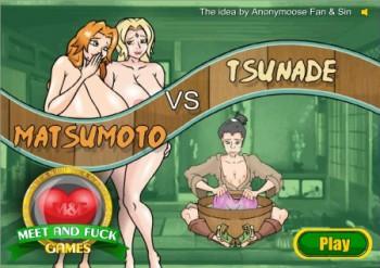 Tsunade sex and fuck