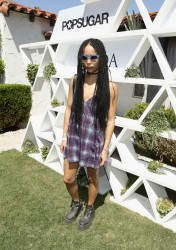 Zoe Kravitz - POPSUGAR + SHOPSTYLE'S Cabana Club Pool Parties in Palm Springs 04/11/15