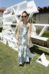 Jamie Chung - POPSUGAR + SHOPSTYLE'S Cabana Club Pool Parties in Palm Springs 04/11/15