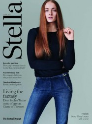 Sophie Turner  - Telegraph : Stella Magazine (UK) - April 12, 2015