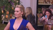 Kate Winslet - Cleavage at 'A Little Chaos' premiere in London, April 13, 2015