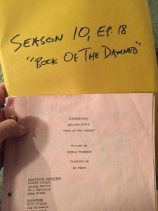 Сверхъестественное: актеры об эпизоде 10.18 Book Of The Damned