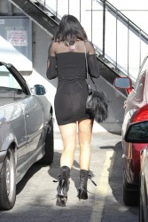 Kylie Jenner in short black dress out and about in LA - 4/15/15 x16