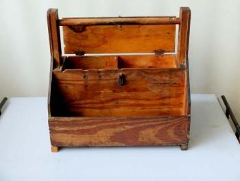 Cassa cassetta porta attrezzi legno vintage - Porta attrezzi legno ...