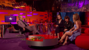 Amanda Holden | Showing her Tattoo @ The Graham Norton Show | April 17 2015