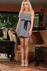 Lexi Belle Striped Dress HQ x 55
