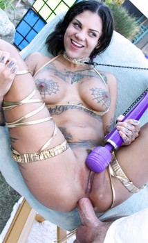 Bonnie Rotten Gets Her Asshole Blown Out Cover