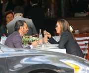 Eva Longoria Spotted having lunch at Nello Restaurant April 26-2015 x54