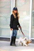 Julie Benz takes her dogs, Sugar & Bamboo to the Dog Park in Toronto April 26-2015 x19
