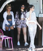 Kendall, Kylie Jenner & Pia Mia Perez - Shopping in West Hollywood 4/28/15