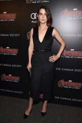 Cobie Smulders - 'Avengers: Age of Ultron' Screening in NYC 4/28/15