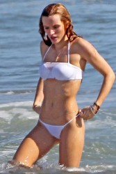 Bella Thorne - Bikini at the Beach 4/30/15