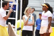 Serena Williams & Elsa Pataky Charity Day at the Mutua Madrid Open in Spain May1-2015 x10