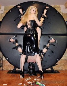 new 04.05.2015 Pegged On The Wheel part 2