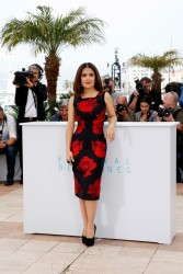 "Salma Hayek - ""Il Racconto Dei Racconti"" Photocall during The 68th Annual Cannes Film Festival 5/14/15"