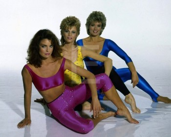 Markie Post - Mary Hart & Tracy Scoggins: Leotard Shoot HQ x 2 *Tagged*
