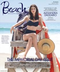 Alexandra Daddario - Beach  Modern Luxury magazine, June 2015