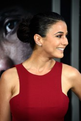 "Emmanuelle Chriqui - ""San Andreas"" Premiere in Hollywood 5/26/15"
