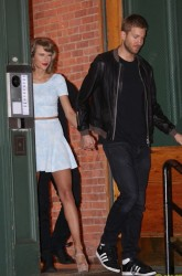 Taylor Swift - going out on a date at night with boyfriend Calvin Harris in NYC 05/26/15