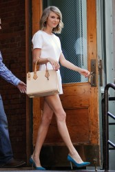 Taylor Swift - leaving her apartment in NYC 05/27/15
