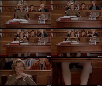 "Kathleen Turner - Courtroom Legs Scene from ""Serial Mom"""