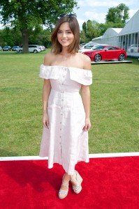 Jenna Coleman - Audi Polo Challenge in Cowdray Park in West Sussex