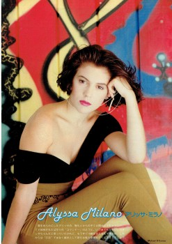 Alyssa Milano: Young & Sexy In The Early 90's - HQ x 3