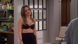 "Sophia Bush | Partners s01e04 ""The Key"" (Black Bra) 