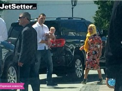 Hayden Panettiere in Kiev Ukraine for the baptism of her duaghter 06-06-15 x3 LQ