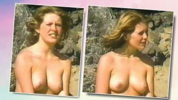 Große nackte brüste