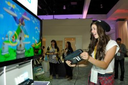 Kira Kosarin - Nintendo at 2015 E3 Gaming Convention 6/16/15