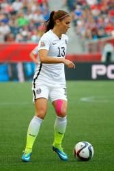 Alex Morgan - Women's World Cup, USA vs. Australia x6