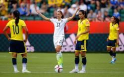 Alex Morgan - Women's World Cup, USA vs.Colombia x12